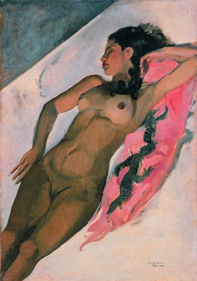 Amrita Sher-Gil, Schlaf, 1932 - Öl auf Leinwand - National Gallery of Modern Art, Neu Delhi © Copyright the artist: Amrita Sher-Gil