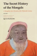 Rachewiltz, Igor de (ed.): The Secret History of the Mongols. A Mongolian Epic Chronicle of the Thirteenth Century, Volume 1, Translated with a Historical and Philological Commentary by Igor de Rachewiltz, Leiden: Brill 2006.